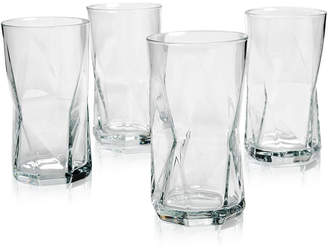 Bormioli Cassiopea Highball Glasses, Set of 4