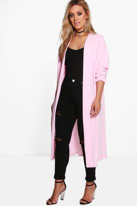 boohoo Plus Waterfall Duster Coat
