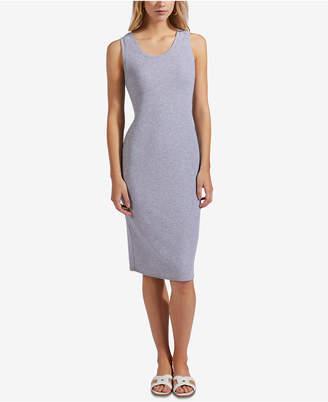 AVEC LES FILLES Rib-Knit Tank Dress