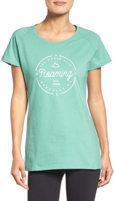 Women's The North Face Roaming Around Graphic Tee $25 thestylecure.com