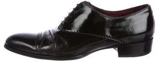 Alexander McQueen Patent Leather Oxfords