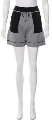 Public School Knit Mini Shorts