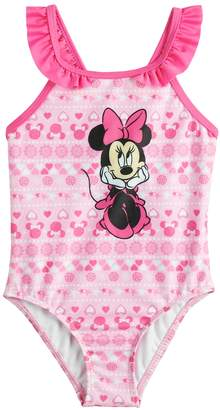 Dreamwave Disney's Minnie Mouse Baby Girl One-Piece Swimsuit by Dreamweave