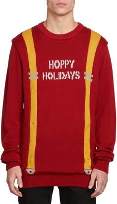 Volcom Holiday Suspenders Sweater