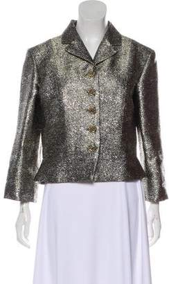 Chanel Metallic Cropped Jacket w/ Tags