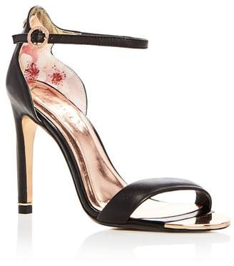 37424ae2d04 ... Ted Baker Women s Sharlot Leather Ankle Strap High-Heel Sandals