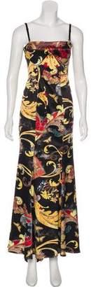 Just Cavalli Printed Evening Dress