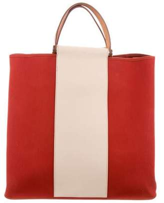 f29819d10e Pre-Owned at TheRealReal · Hermes Cabag Canvas Tote
