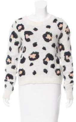 Torn By Ronny Kobo Distressed Patterned Sweater
