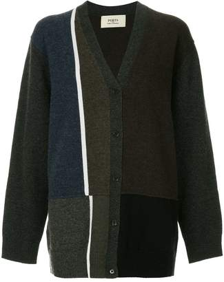 Ports 1961 patterned cardigan