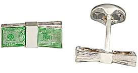 Deakin & Francis Men's Money Stack Cufflinks - Green