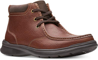 Clarks Men's Cotrell Top Leather Chukka Boots Men's Shoes