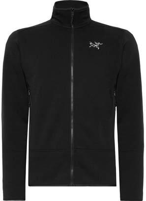 Arc'teryx Kyanite Slim-Fit Polartec Jersey Zip-Up Base Layer