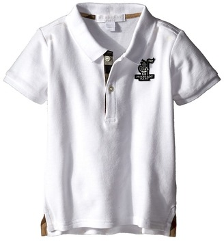 Burberry Kids - Palmer Polo Boy's Short Sleeve Button Up $60 thestylecure.com