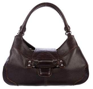 Tod's Embossed Leather Hobo