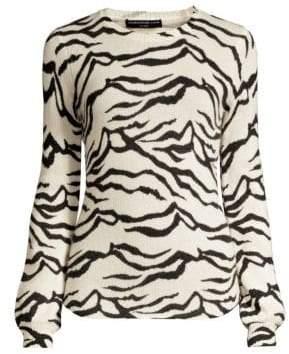 Generation Love Lizzie Zebra-Print Sweater