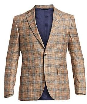 Saks Fifth Avenue Check Sportcoat
