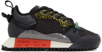 adidas by Alexander Wang Black and Grey Reissue Run Sneakers