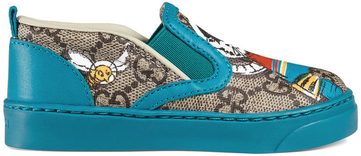 Gucci Kids Toddler GG space cats sneaker