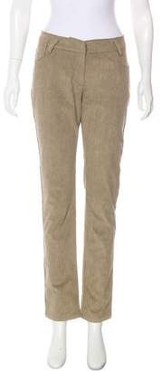 Gunex Mid-Rise Corduroy Pants