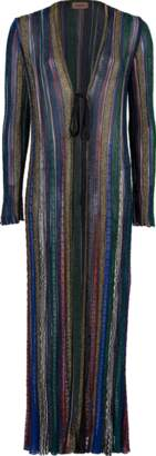Missoni Lame Duster Cardigan