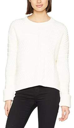7392c4b24 Tommy Hilfiger Women's Paniana Cable SWTR Jumper, (Snow White 118), (Size