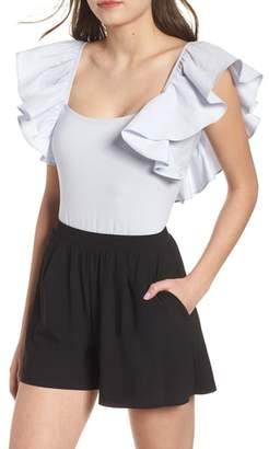 BP Ruffle Sleeve Bodysuit