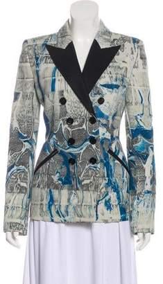 Emilio Pucci Virgin Wool & Silk Blazer