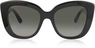 Gucci Oversized Rectangular-frame Acetate Sunglasses