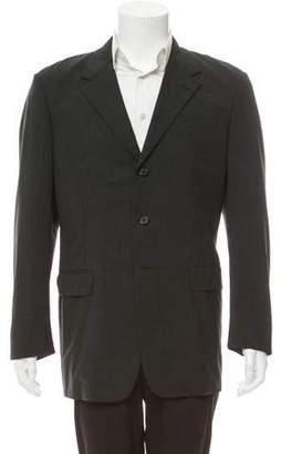Prada Virgin Wool Structured Blazer