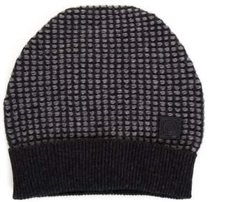 Salvatore Ferragamo Grey Gancini Hat In Leather