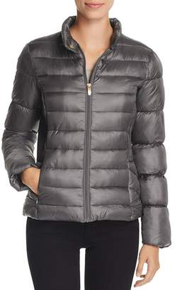 Via Spiga Short Packable Puffer Coat