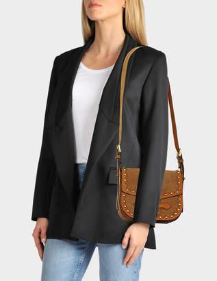 Vanessa Bruno Gemma Crossbody Bag in Caramel Calf Leather