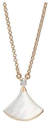 Bulgari DIVASSDREAMNECKLACE ROSE GOLD AND WHITE