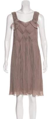 Fendi Silk Midi Dress