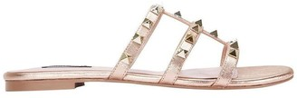Spain rose gold sandal