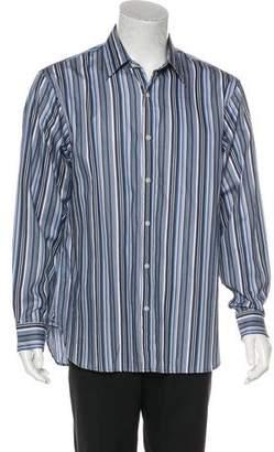 Michael Kors Striped Woven Shirt