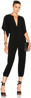 Norma Kamali Rectangle Jog Jumpsuit $145 thestylecure.com