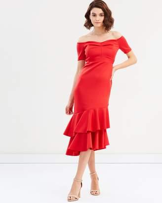 Miss Selfridge Bardot Scuba Dress