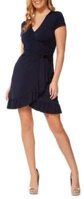 Dex Ruffled Wrap Dress