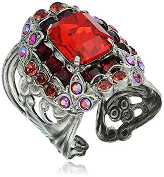 Sorrelli Ruby Lycoris Ring
