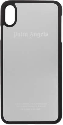 Palm Angels SIlver and Black iPhone XS Max Case