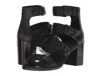 Frye Danica Western Buckle High Heels