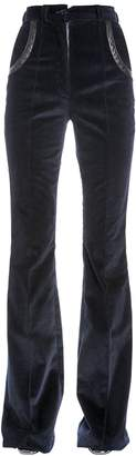 Nina Ricci Flared Stretch Cotton Corduroy Pants