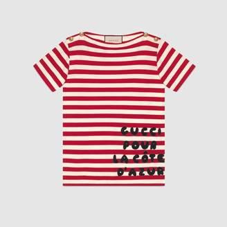 Gucci (グッチ) - パッチ オーバーサイズ Tシャツ