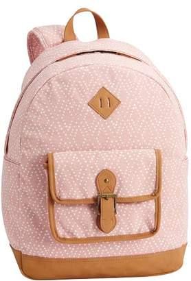 Pottery Barn Teen Northfield Soft Rose Diamond Backpack