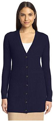 Society New York Women's Cashmere Boyfriend Cardigan