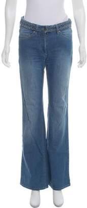 Etoile Isabel Marant Mid-Rise Flared Jeans