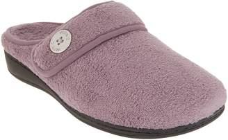 Vionic Adjustable Strap Slippers - Sadie