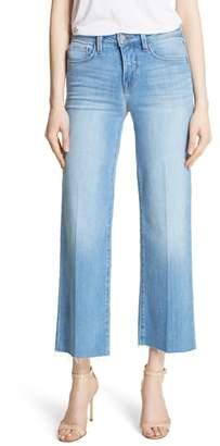 L'Agence Danica Crop Wide Leg Jeans